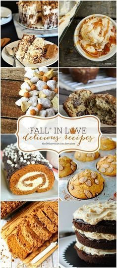 Recipes : Delicious and Easy Fall Recipes... Yum! { the36thavenue.com }