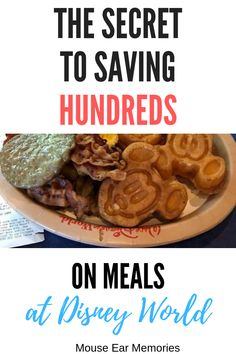 Disney World has some of the best food! But it's also super expensive! The good news is that you can enjoy some items, while not breaking your Disney World food budget. Eat cheap at Disney World! Eating Cheap At Disney World, Dining At Disney World, Disney Dining Tips, Disney World Food, Eat On A Budget, Disney On A Budget, Budget Meals, Food Budget, Budget Recipes