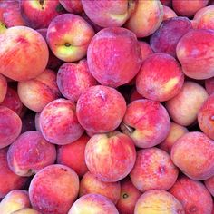 Last few days of super seasonal local peaches at Chop't. What peach salads have you crafted this summer? #nationalpeachmonth