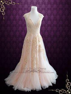 Boho Wedding Dresses from Ieie's Bridal
