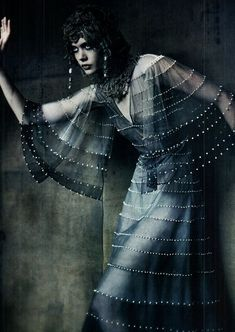 ♥ Romance of the Maiden ♥ couture gowns worthy of a fairytale - Frida Gustavsson by Paolo Roversi   Vogue Italia