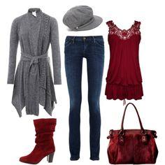 Fall Grays & Reds