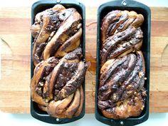 Babbka de Chocolate e Nozes (ou Bolo Krantz)
