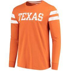 5eee0024577b Men s Texas Orange Texas Longhorns Starks Long Sleeve T-Shirt Orange Texas