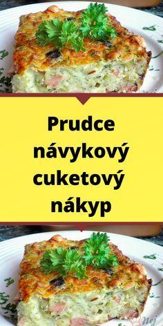 Quiche, Vegetarian Recipes, Cooking Recipes, Lunch Snacks, Salmon Burgers, Nutella, Ham, Zucchini, Breakfast