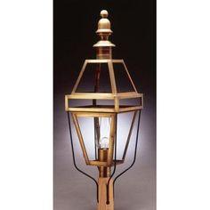Northeast Lantern Boston 1 Light Lantern Head Finish: Antique Brass, Shade Type: Frosted