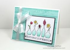 Vivid Vases by zainy3018 - Cards and Paper Crafts at Splitcoaststampers