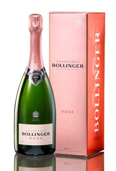 Famous Champagne brand Bollinger has redesigned its Rosé bottle and packaging.