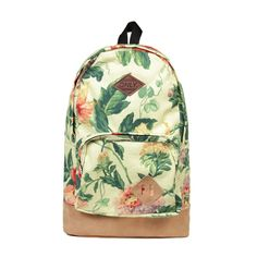 Vintage Country Floral Backpack