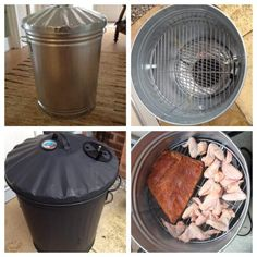 Create a DIY Trash Can Smoker
