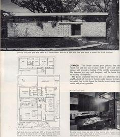 Unbelievable Modern Architecture Designs – My Life Spot Modern Architecture Design, Vintage Architecture, Architecture Plan, Modern Design, Modern Floor Plans, Modern House Plans, House Floor Plans, Mcm House, Vintage House Plans