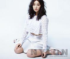 Jung Yoo Mi Nylon Korea Magazine March Issue '14