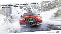 Pubblicità Audi quattro inverno, copywriter Luca Bartoli