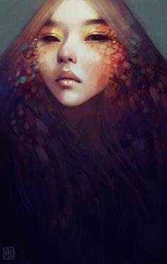 Juxtapoz Magazine - The Fantasy Art of Anna Dittmann Photoshop, Photo D Art, Art Graphique, Love Art, Amazing Art, Art Reference, Fantasy Art, Concept Art, Street Art