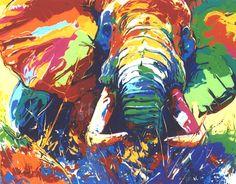 Elephant. Fauvismo