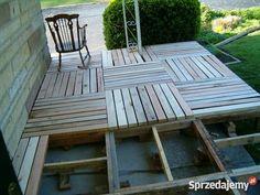 Meble z palet ogród taras stoliki półki itp Stoły, krzesła, biurka podkarpackie