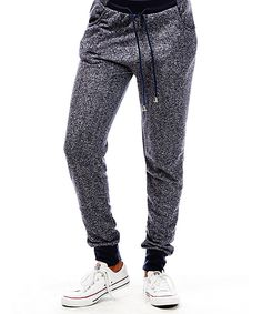 Another great find on #zulily! Blue Marled Joggers by Sunrise Design #zulilyfinds