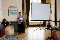 """Delegates enjoying a presentation at the recent """"Women in Business"""" networking lunch."""