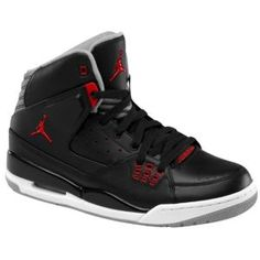 Jordan SC-1 - Men's - Basketball - Shoes - Black/Gym Red/Stealth @Eastbay