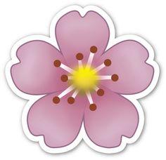 🌺My Diary🌺sketchbook🌺 — Смайлики emoji Hibiscus Flowers, Purple Flowers, Paper Flowers, Emoji Stickers, Tumblr Stickers, Emoji Flower, Png Tumblr, Flamingo Party, Flower Clipart