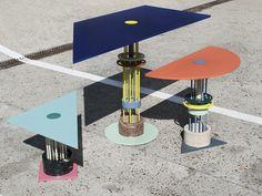 Hoist Tables by Studio Plutarco