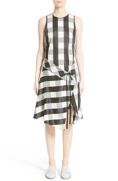 New rag bone Brighton Asymmetrical Dress, Ivory fashion dress online. [$550]>>newtstyle Shop fashion 2017 <<