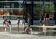 Cologne, Germany: Summer at Rheinauhafen