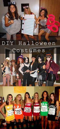 DIY Halloween Costumes  Baker A L E Y |  V A N  |  L I E W Burhans
