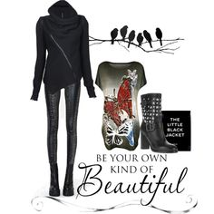 Your Own Kind Of Beautiful by noconfessions, via Polyvore