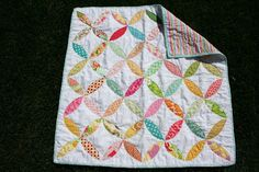 Baby girl quilt. Shelby pattern by for the love quilts