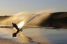 Fun on the water in Saskatchewan, Canada