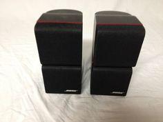 bose double cube speakers. 2 bose redline double cube speakers lifestyle acoustimass 10/12/15/16/ bose