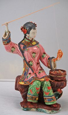 Chinese porcelain figurine, Silk Road Collection