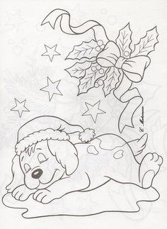 Новый год, Рождество, Собака
