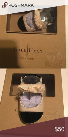 New Cole&Haan shoes size 1 New newborn Cole&Haan shoes size 1 Cole Haan Shoes Flats & Loafers