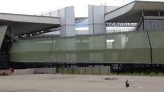 Arena Pantanal a 4 dias do jogo de estreia Mixto X Santos - Copa 2014
