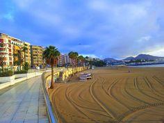 Alcaravaneras beach, Las Palmas de Gran Canaria   Photo: Vismante Baltakyte
