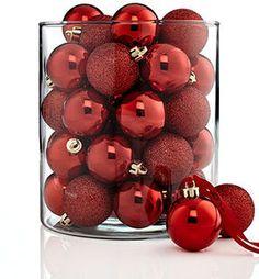 ShopStyle.com: Kurt Adler Christmas Ornaments, Set of 32 Shatterproof Balls $20.99