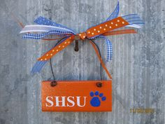 Sam Houston State University   Bearkats  Wooden by cntrysisters, $5.25