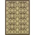 Green/Ivory Outdoor Area Rug (3'7 x 5'6) | Overstock.com