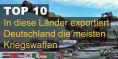 In diese Länder exportiert Deutschland die meisten Kriegswaffen