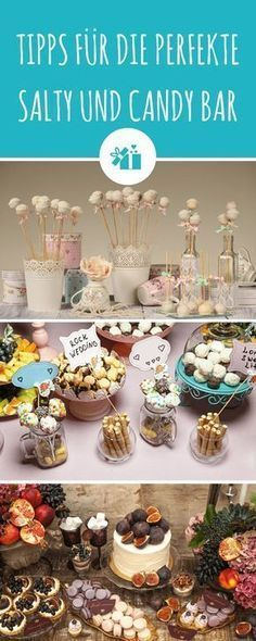 Tips for the perfect Salty and Candy Bar- Tipps für die perfekte Salty und Candy Bar Wedding Bar: Nibbling or snacking? Candy Bar Wedding, Wedding Reception Food, Wedding Boxes, Wedding Catering, Candy Bar Party, Diy Wedding Lighting, Waffle Bar, Party Buffet, Free Wedding