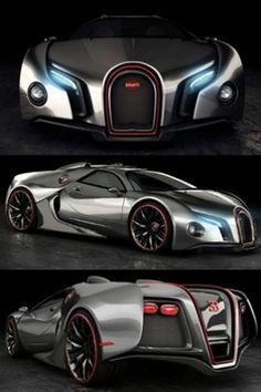 Bugatti Veyron is a nasty girl