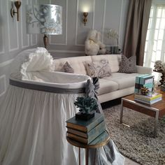 Our favorite Bassinette styles for a video shoot by Petit Tresor. #pregnant #nurserydecor #ptbaby
