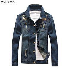 6024 -  Vestes en jeans VERSMA  fashion de qualité