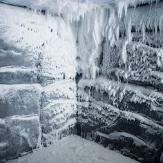 The ice room in the K West Hotel Spa - Find this and more of the best Spas at Red Online.