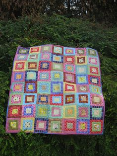 There's nobody here but us chickens Cot Quilt by Koshka2, via Flickr