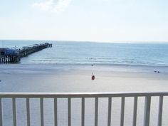 View from balcony of 3 bedroom condo