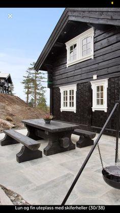 Cottage, Patio, Outdoor Decor, Home Decor, Decoration Home, Room Decor, Cottages, Cabin, Home Interior Design