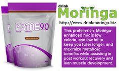 Zija Pr1me 90 Moringa enhanced protein meal replacement shake.